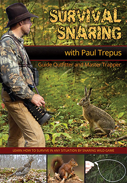 Survival Snaring Training DVD Video